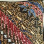 Batik Stripes - rectangular - cushion