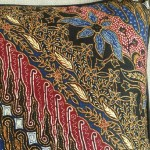 Batik Stripes - small - rectangualr - cushion