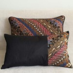 Batik Stripes - small - rectangualr - cushion