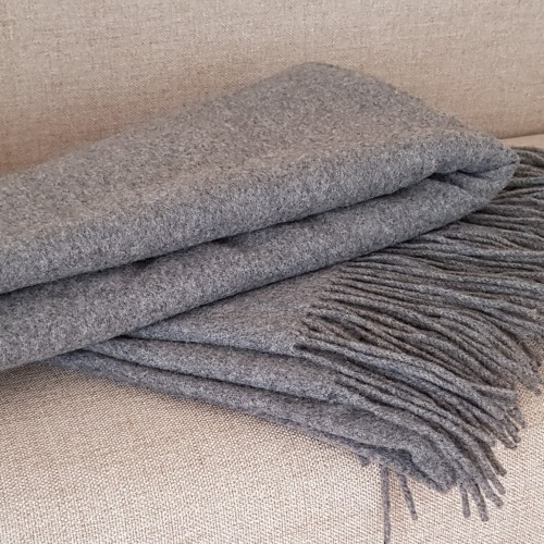 Cashmere Throw - grey