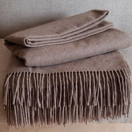 Cashmere Throw - plain