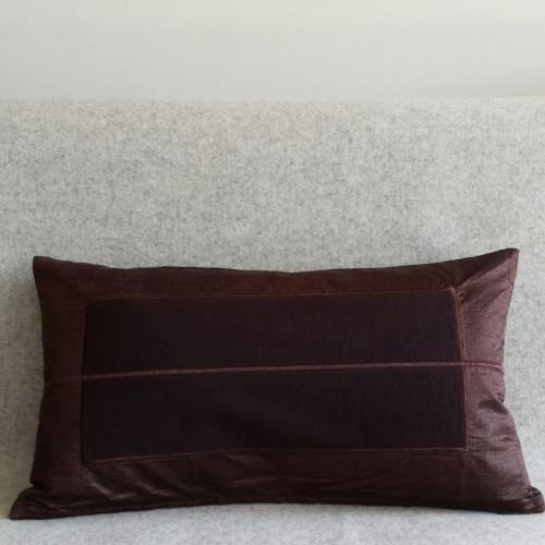 Panel - rectangular - cushion - chocolate