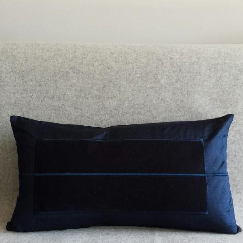 Panel - rectangular - cushion - navy