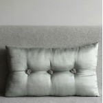 Tufted Cushion - rectangular - Mint x2 SAVE £6 !